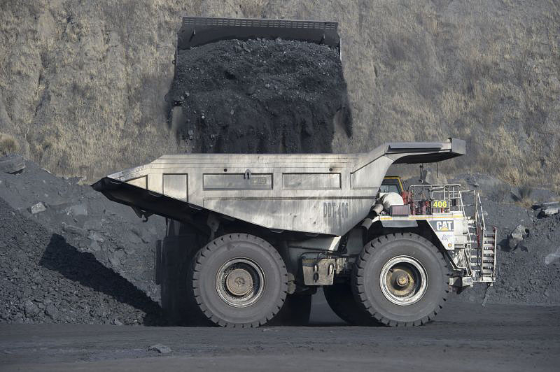 A truckload of coal (contributed by AngloCoal)
